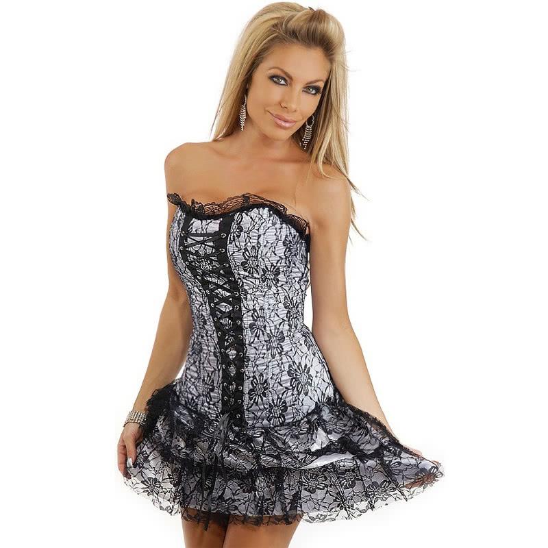 Платья с корсетом в картинках
