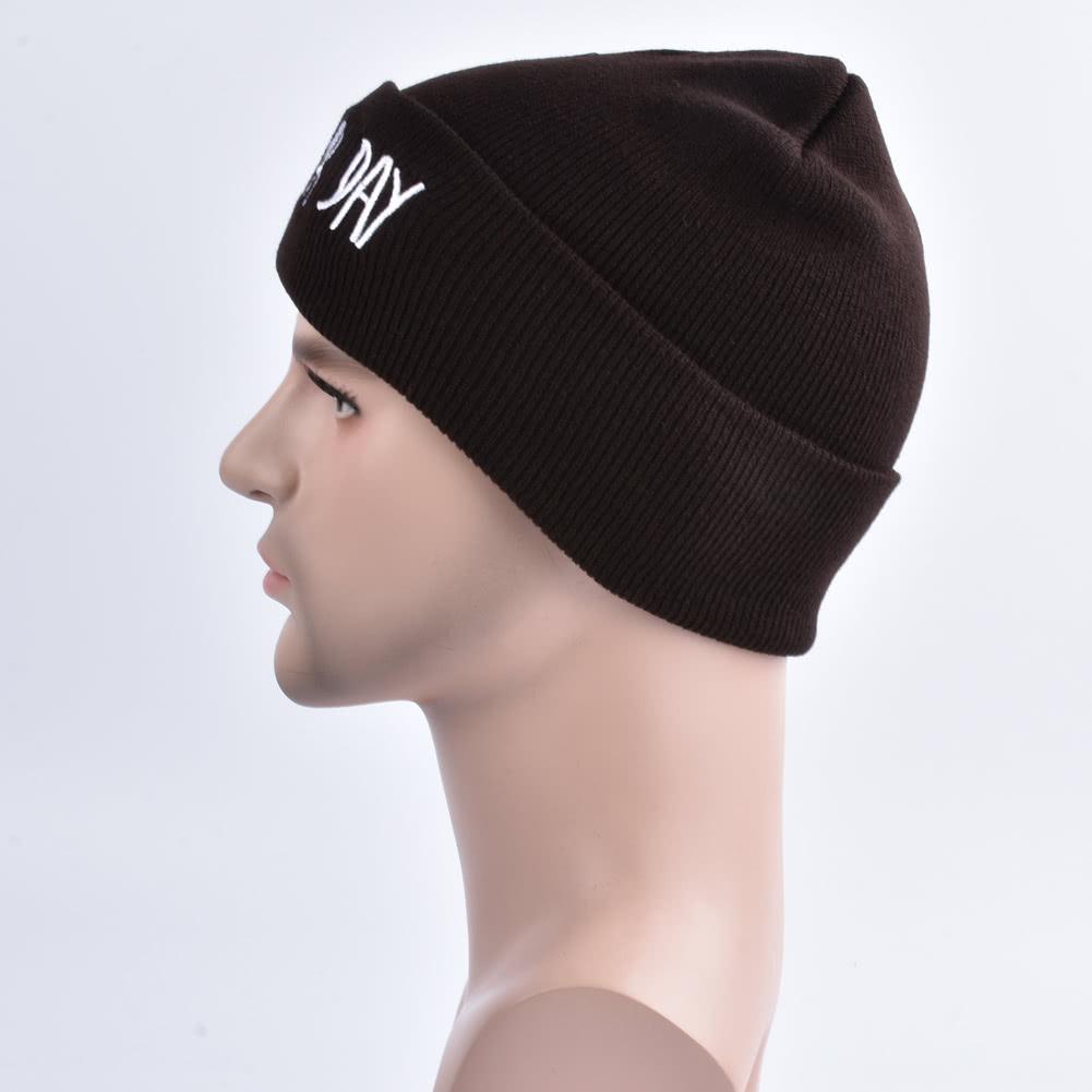 Beanie mal pelo día del sombrero de la letra de adultos casual unisex  sombrero de acrílico Gorra Cap Gorra de invierno para hombres mujeres caqui  - Tomtop. ... a3d73d132e44