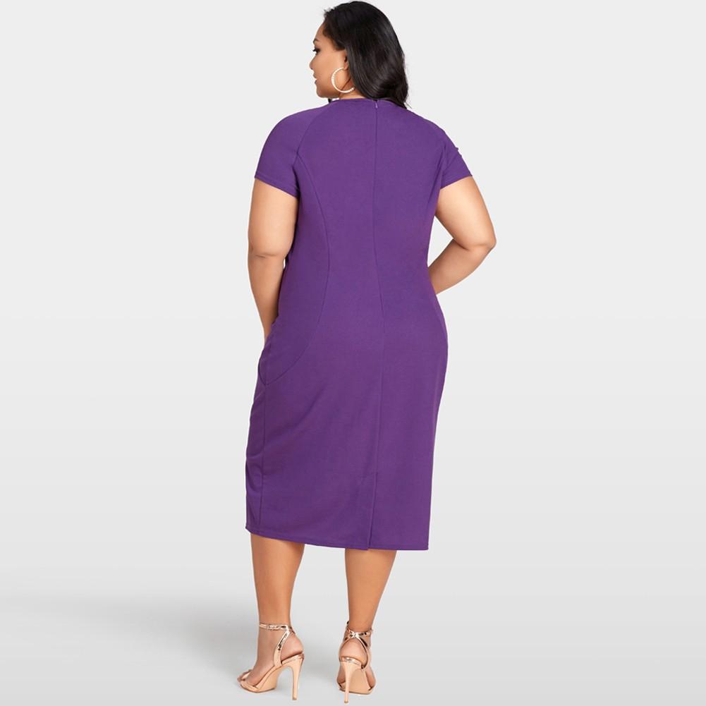Nuevas mujeres atractivas más el tamaño del vestido ajustado O ...