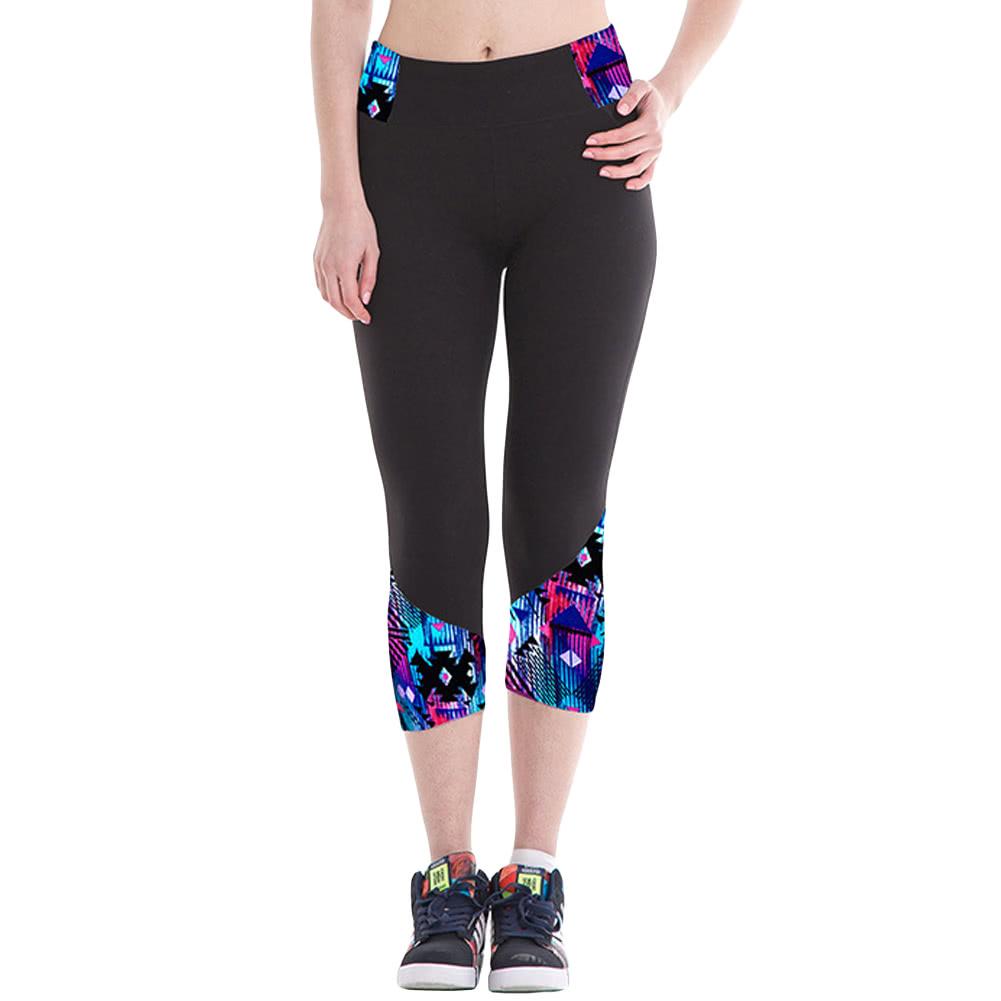 Fashion femmes leggings imprim mod le taille haute for Haute 8 yoga