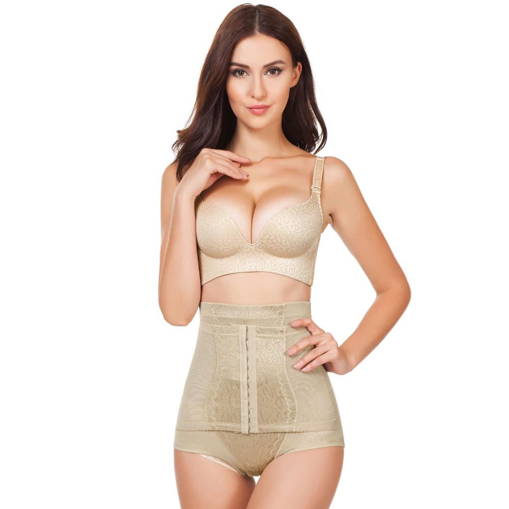38a8d6714e2 Women Body Hot Shaper Waist Trainer Tummy Hip Control Corset Postpartum  Slimming Shapewear Panties Underwear Beige beige Online Shopping