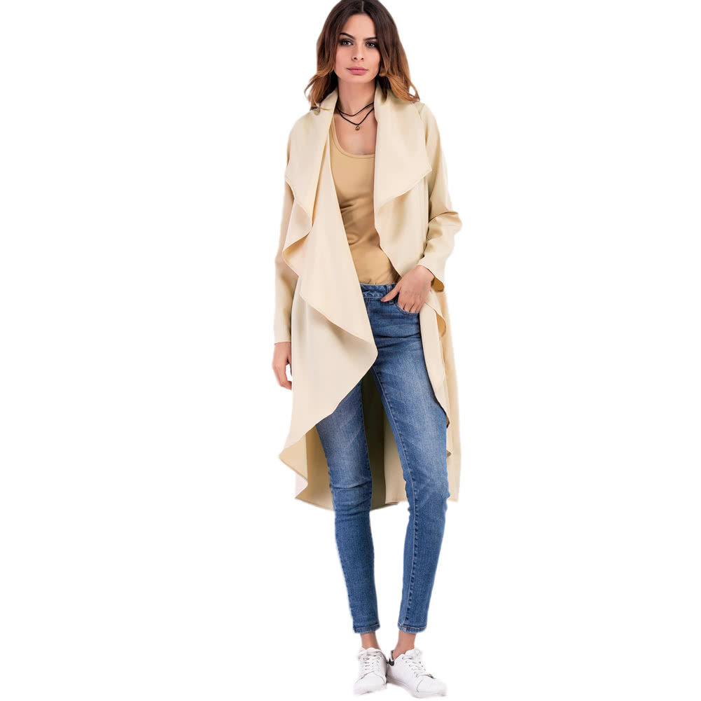 Cheap Array Array New Women Cardigan Thin Winter Coat Turndown ...
