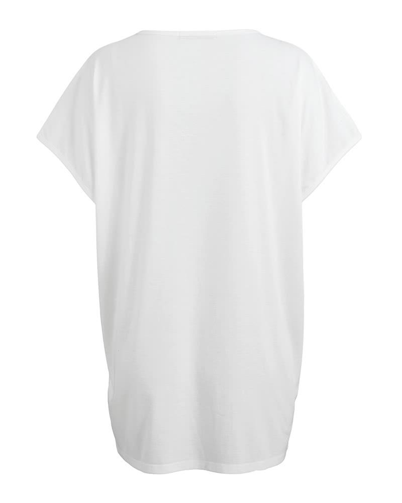 new concept aad2f 6b120 Maglietta a maniche lunghe delle donne di modo stelle stampano maniche  corte maniche corte T-shirt in bianco e nero grigio bianca l - Tomtop.com