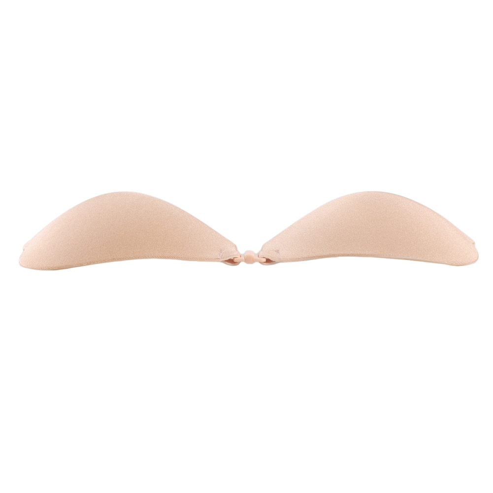Silicone Push Up Bra Strapless Adhesive Invisible Sexy Brassiere V Ear Wing Seamless Silikon Sillicon Women Lingerie Bralette Backless Underwear Black Beige