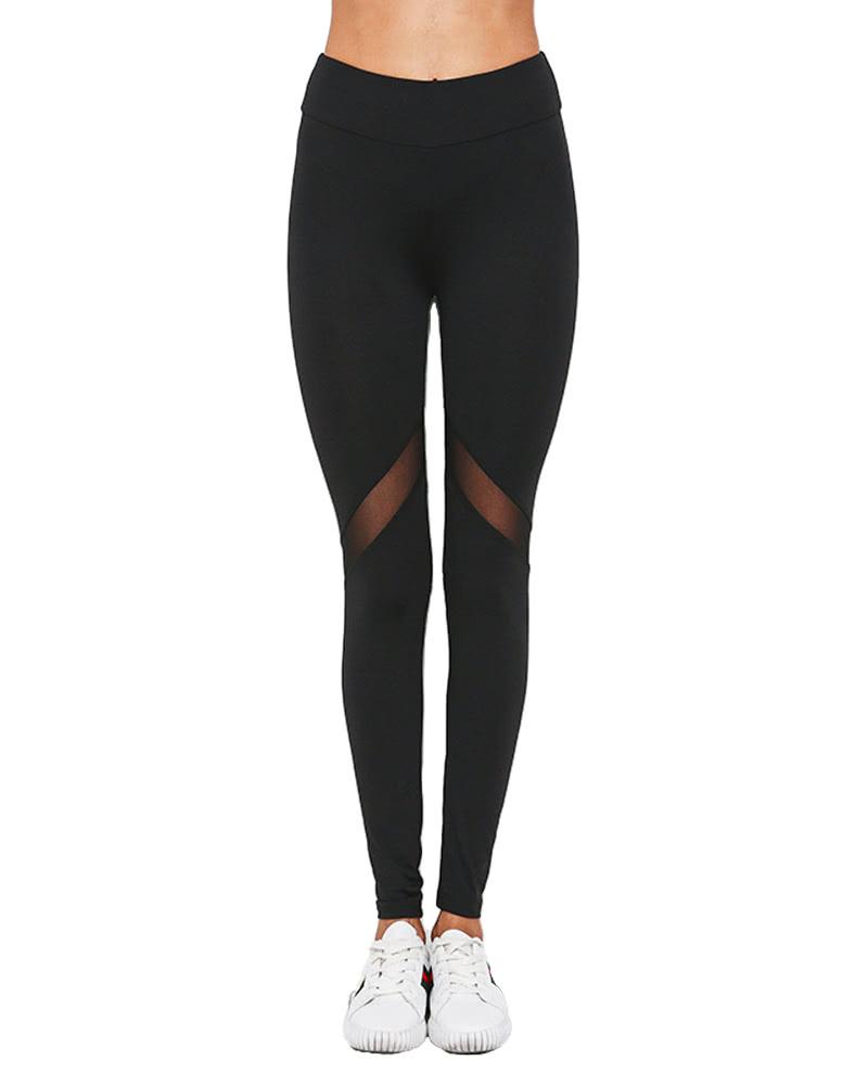 Sexy Women Yoga Pants Sports Legging Tight Running Pants ...