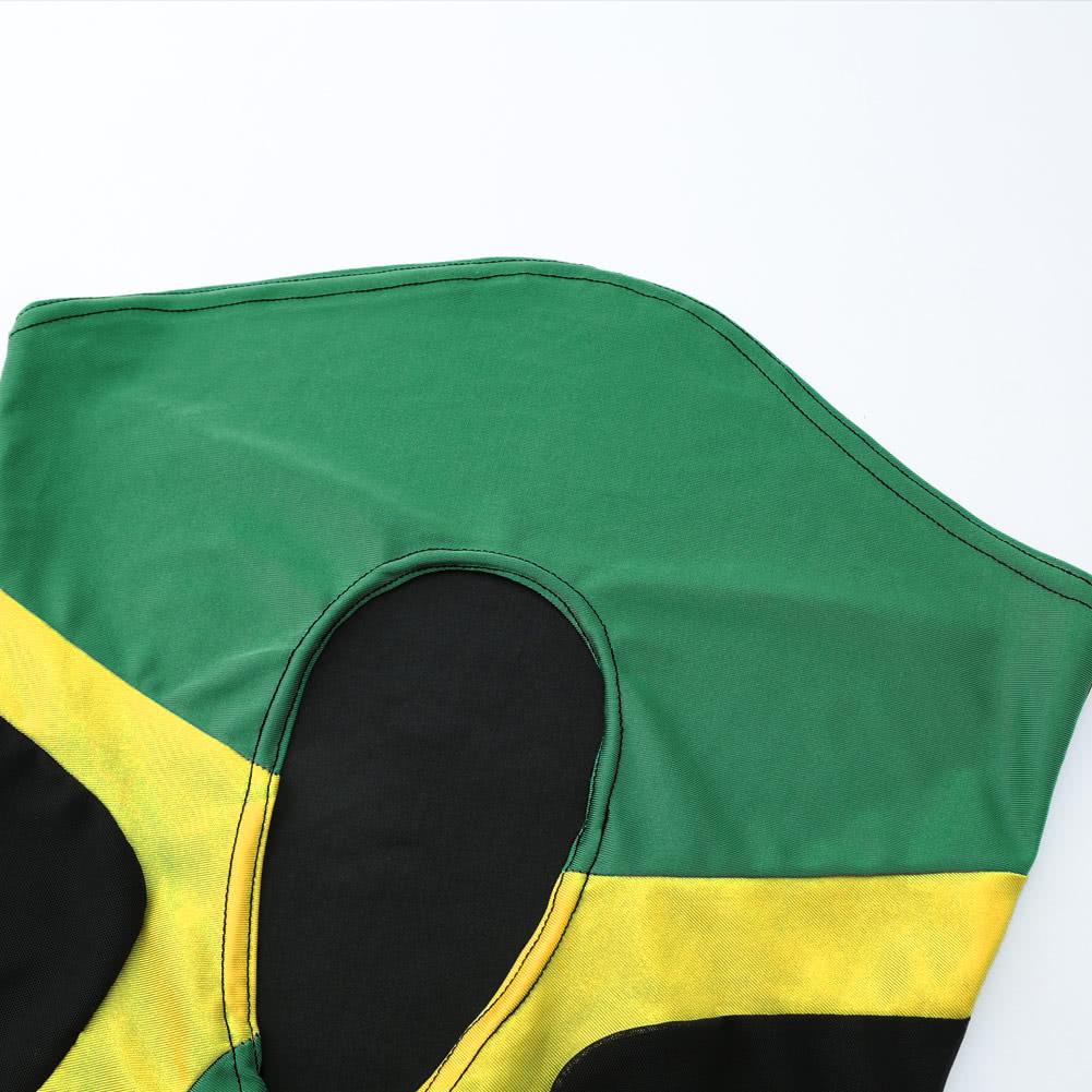 Women Sexy One-piece Swimsuit Cut Out Jamaica Monokini ...