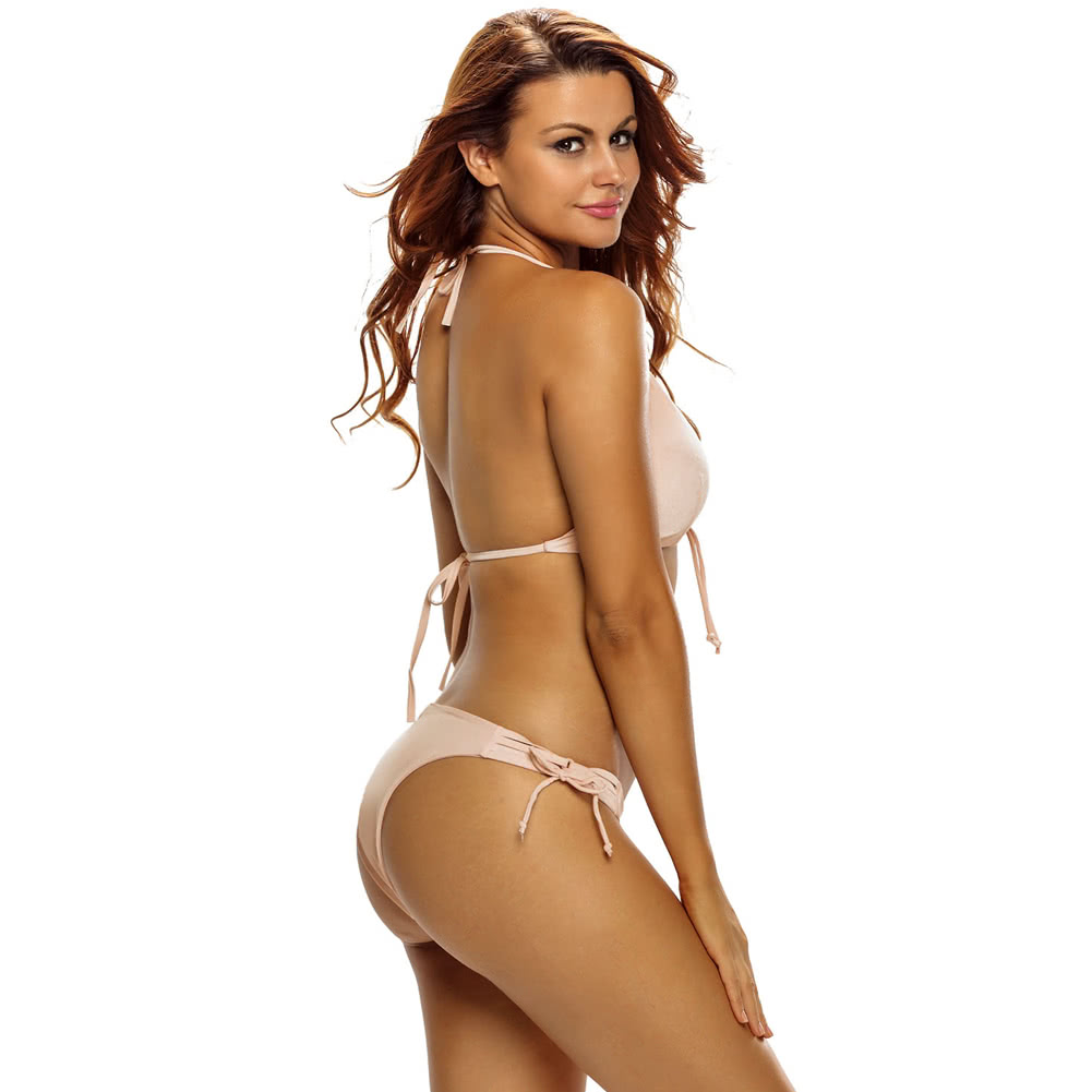 Italian sexy woman bikini, eve medez topless