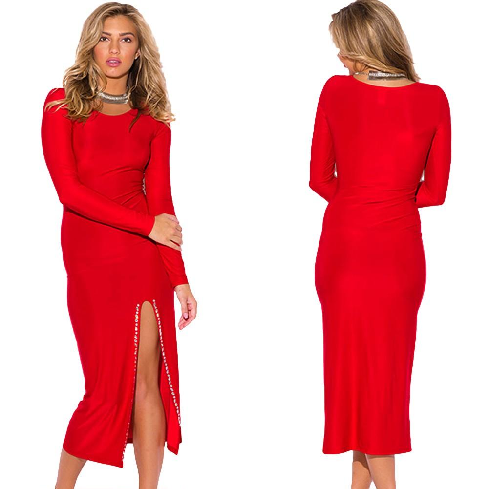 Midi Women Dress for Christmas