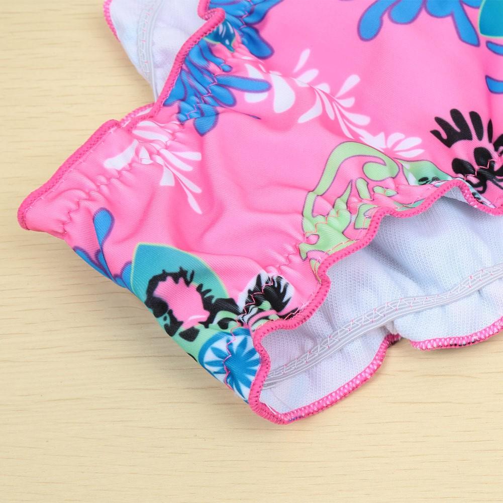Femmes sexy bikini set floral impression tissu top scrunch - Tissu maillot de bain ...