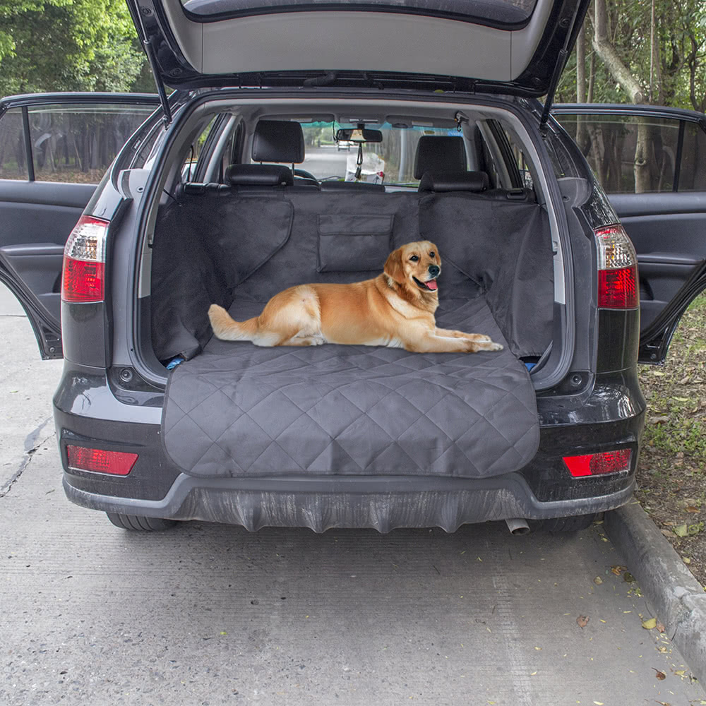 anself non slip waterproof dog cargo liner safety hammock pet car back seat cover protector mat. Black Bedroom Furniture Sets. Home Design Ideas