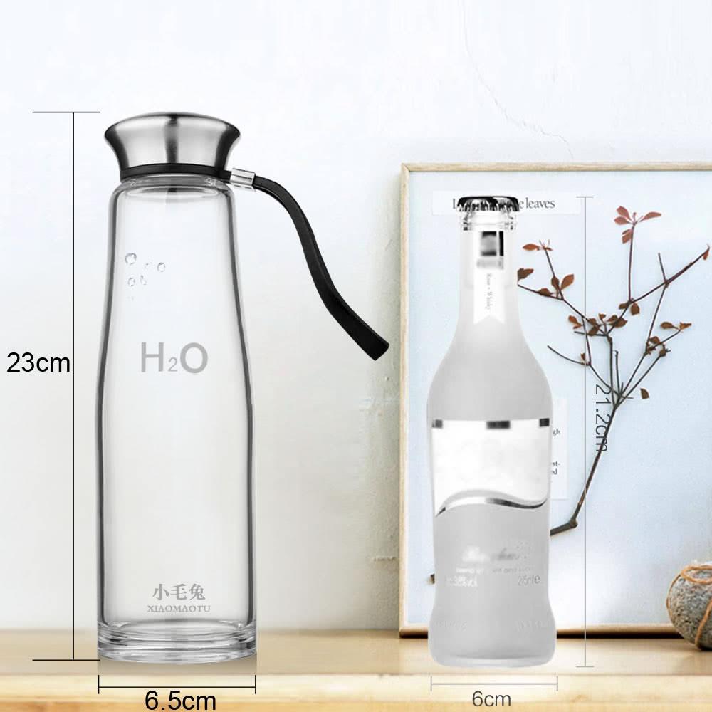 500ml portable grand sport capacit eau coupe bouteille verre de borosilicate haute. Black Bedroom Furniture Sets. Home Design Ideas