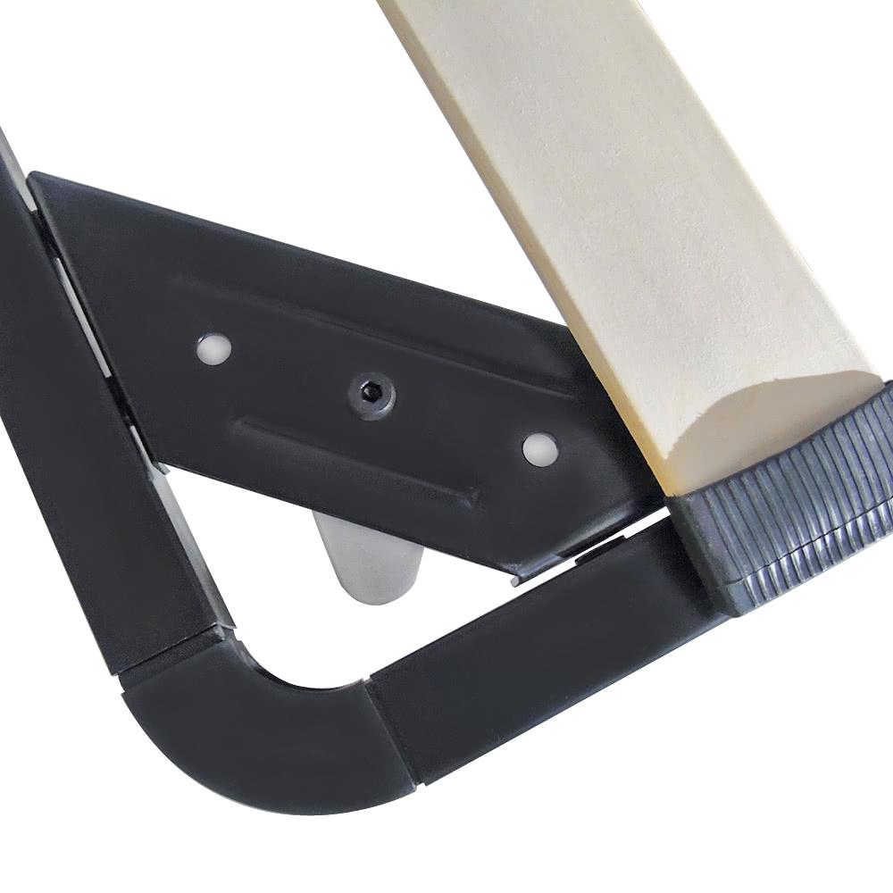 Estructura de cama iKayaa plataforma de metal contemporáneo con ...