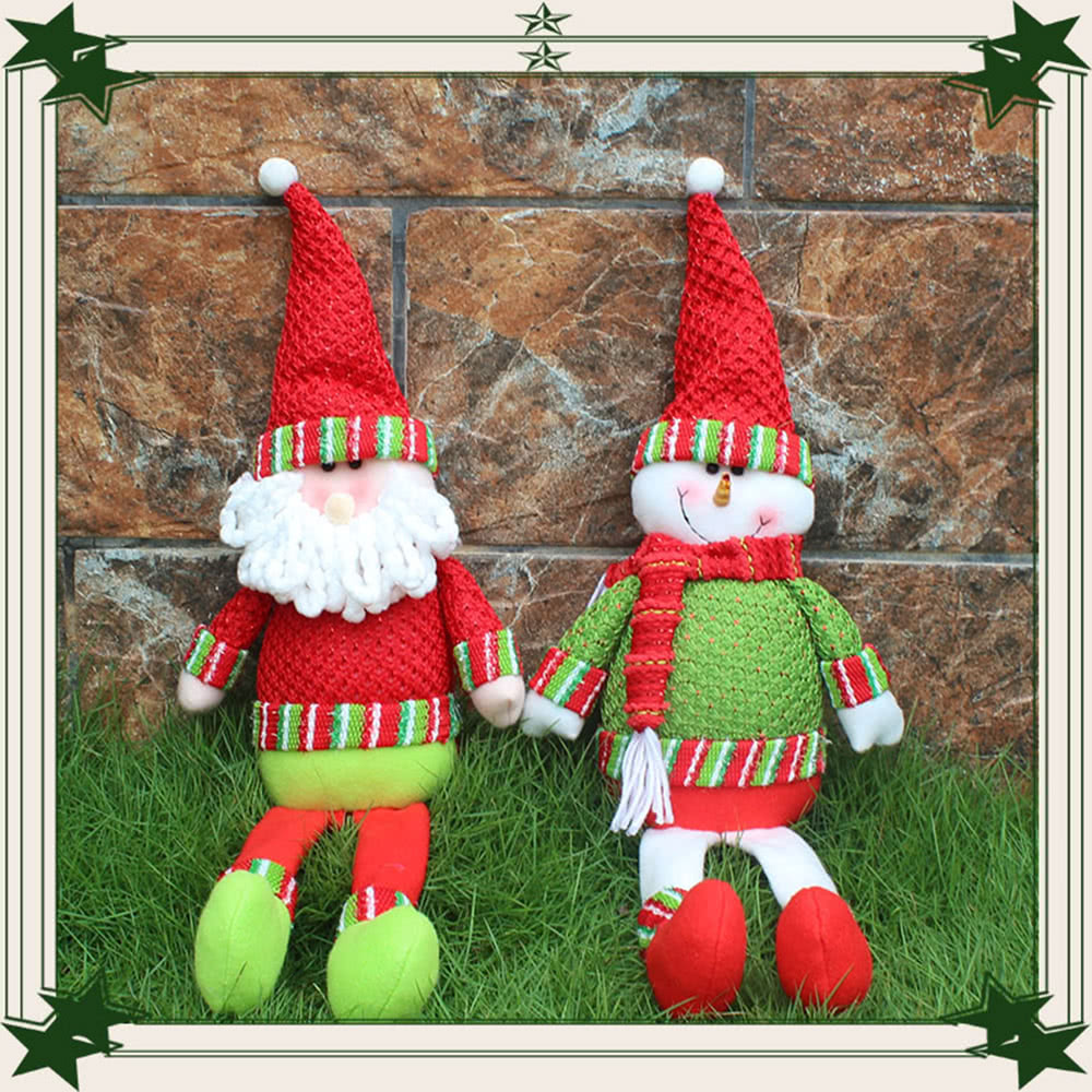 Festnight hot sale xmas lovely decors doll christmas santa for Hotel decor suppliers