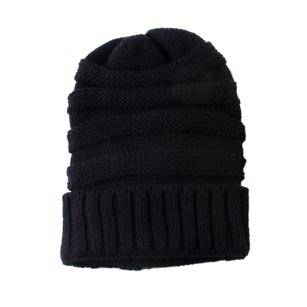 ec0abec1c Fashion Men Women Kid Fall Winter Warm Unisex Elastic Head Skull Cap Knit  Knitted Wool Crochet Beanie Ski Blank Color Hats