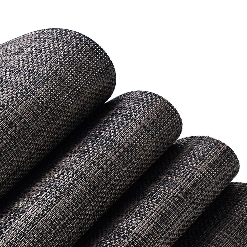 12 18 pouces pvc r sistant la chaleur en tissu placemat r sistant aux taches anti d rapant. Black Bedroom Furniture Sets. Home Design Ideas