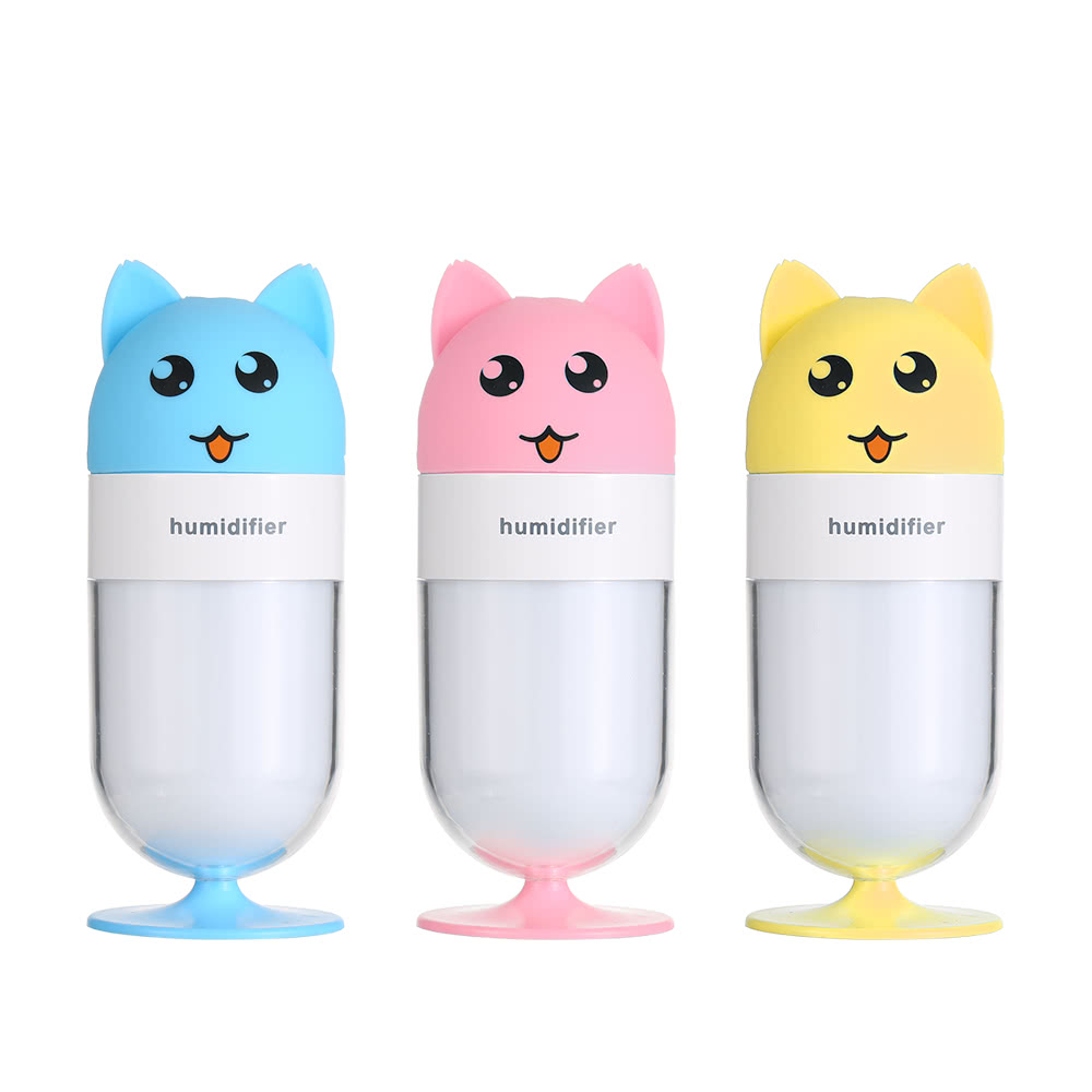 meilleur humidificateur d 39 air nightlight led soft cute. Black Bedroom Furniture Sets. Home Design Ideas