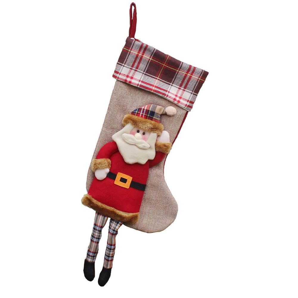 Beste Weihnachten Hanging Strümpfe Geschenk Süßigkeiten Tasche # 1 ...