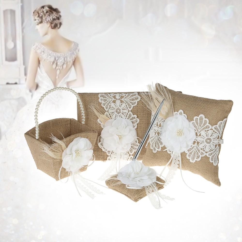 diy idea pics wedding bearer basket flower ring pillow girl