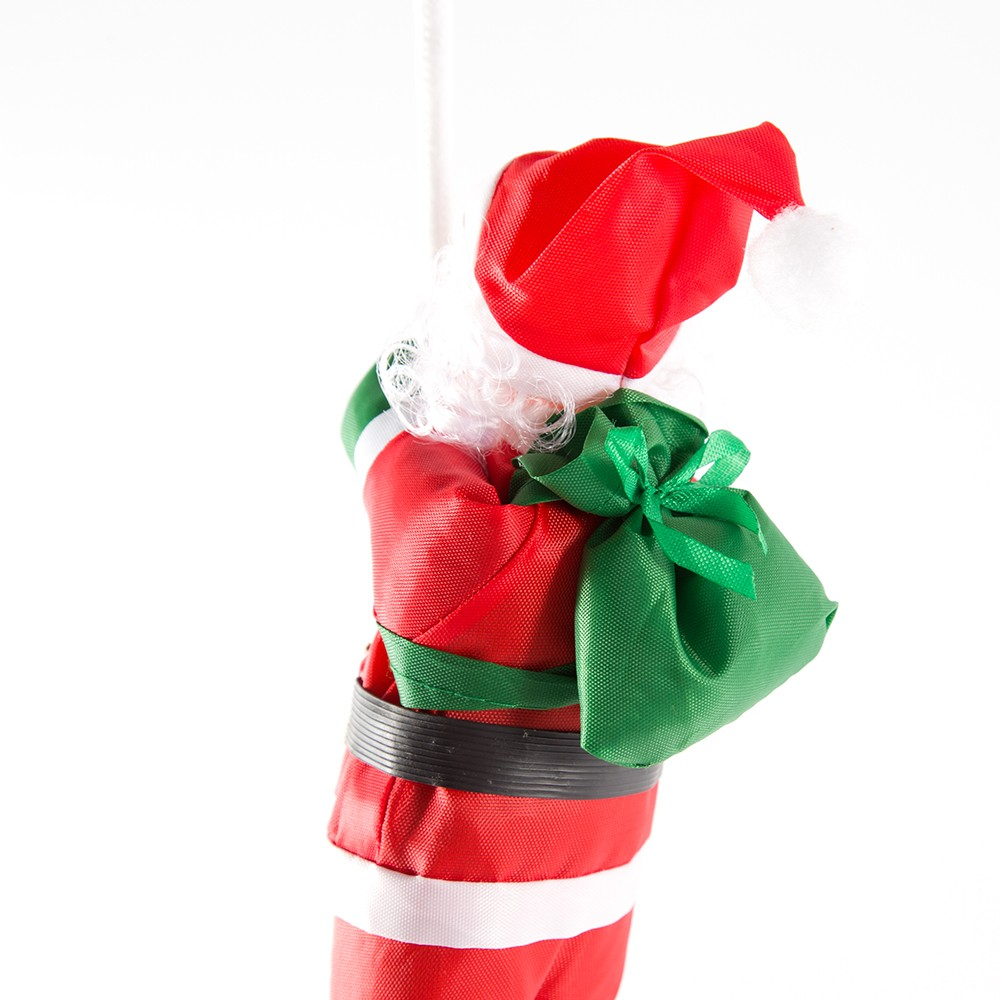 weihnachten weihnachtsmann puppe 25 cm zwei santa climb seil weihnachtsbaum ornamente wand. Black Bedroom Furniture Sets. Home Design Ideas