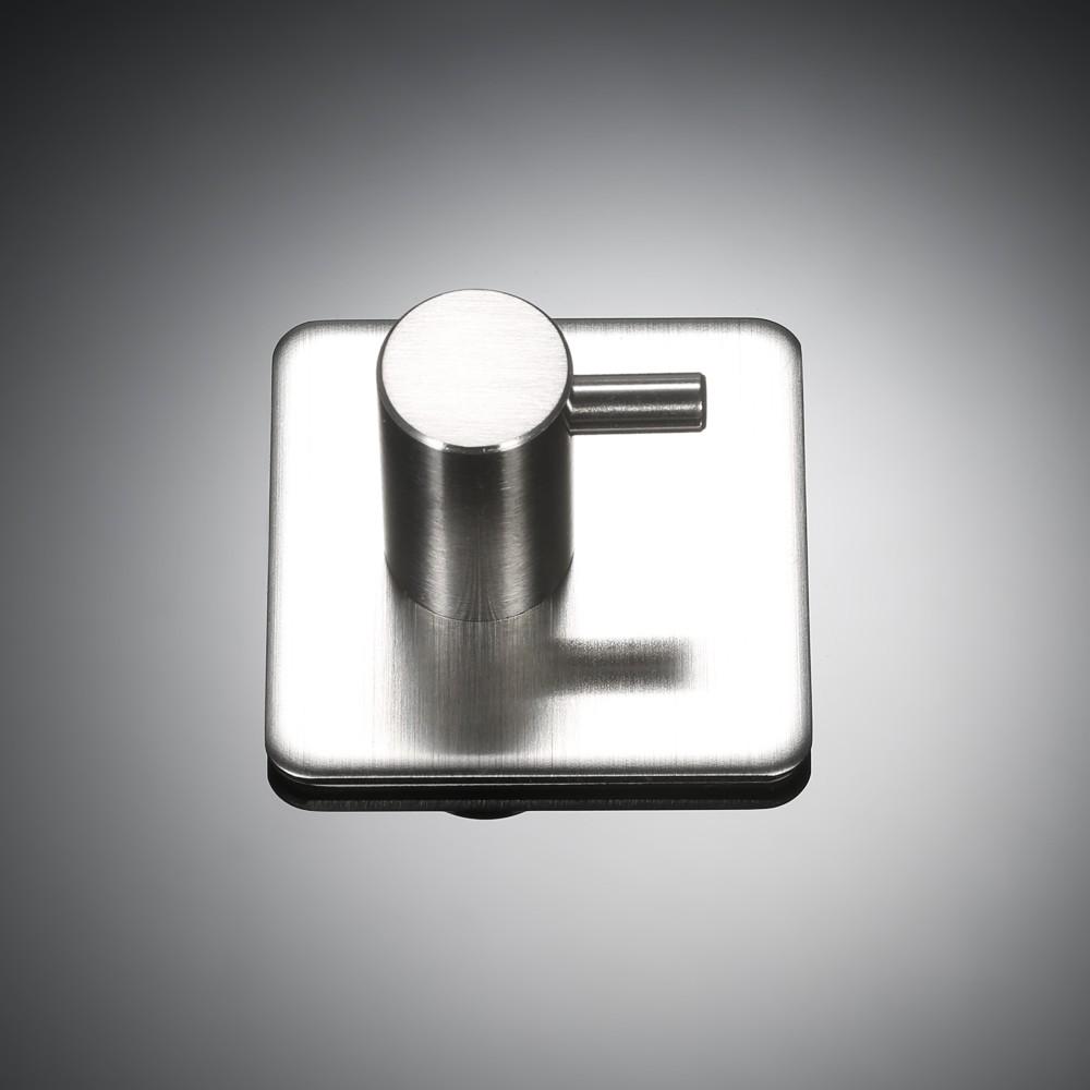 Esonmus 4pcs/set Self-Adhesive Stainless Steel Hook Wall Mounted ...