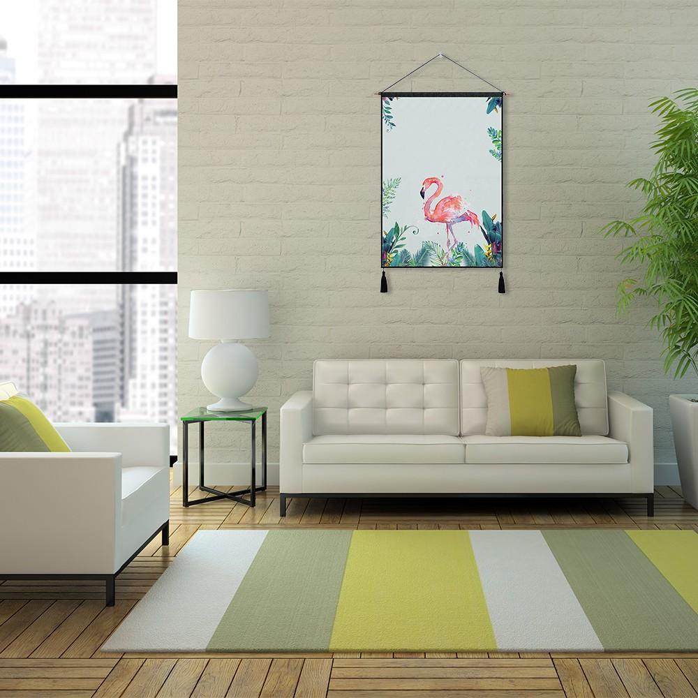 flamingo tapisserie mur art tapisseries tropical home d coratif porte rideau salon couvre lit. Black Bedroom Furniture Sets. Home Design Ideas