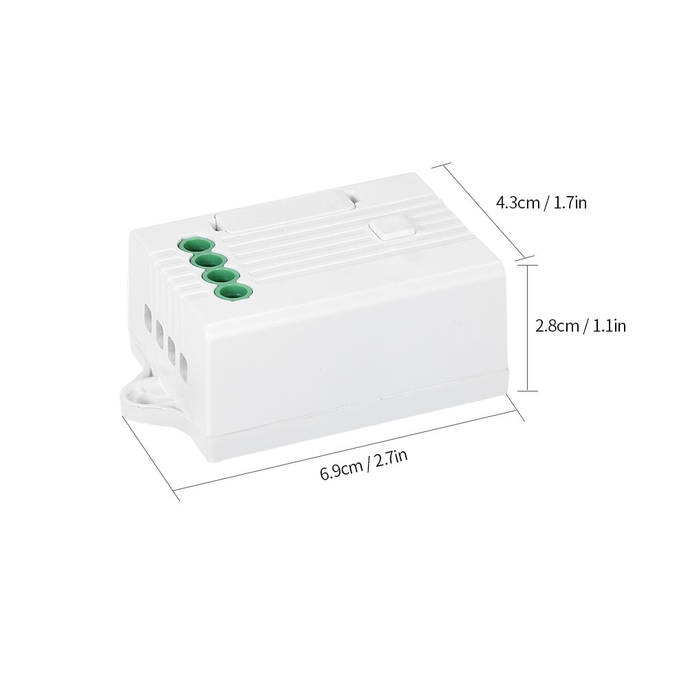 Wireless Light Switch Receiver Wired In 4 Wire Receiving Controller How To A Plug Outlet Remote Compatible With Control Lamp Ac85v 260v