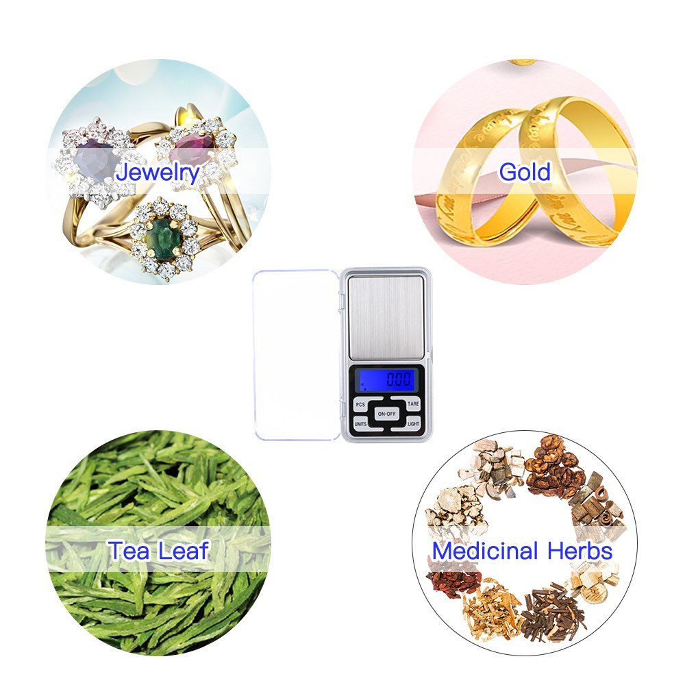 High Precision Mini Electronic Digital Scales 200g/0.01g