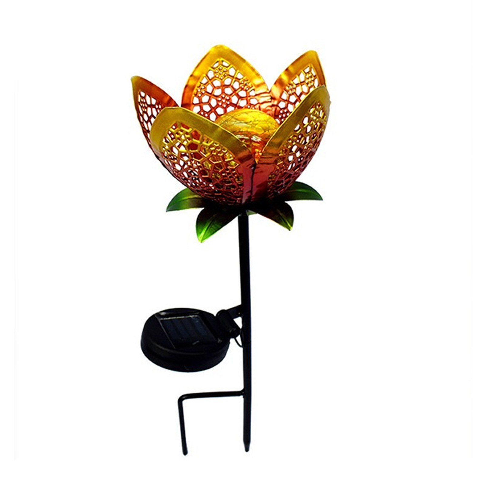 Best Led Solar Landscape Lights Flower Shaped Led Garden 1pcs Sale Online Shopping Cafago Com
