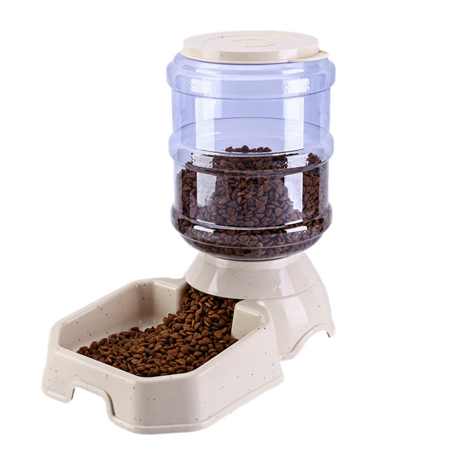 Deal Automatic Pet Water Food Dispenser 3 8l Large Capacity Self Dispensing Gravity Pet Feeder Waterer Cat Dog Feeding Bowl Drinking Water Device Perfect For Using When You Re Going Out For Traveling Or Working