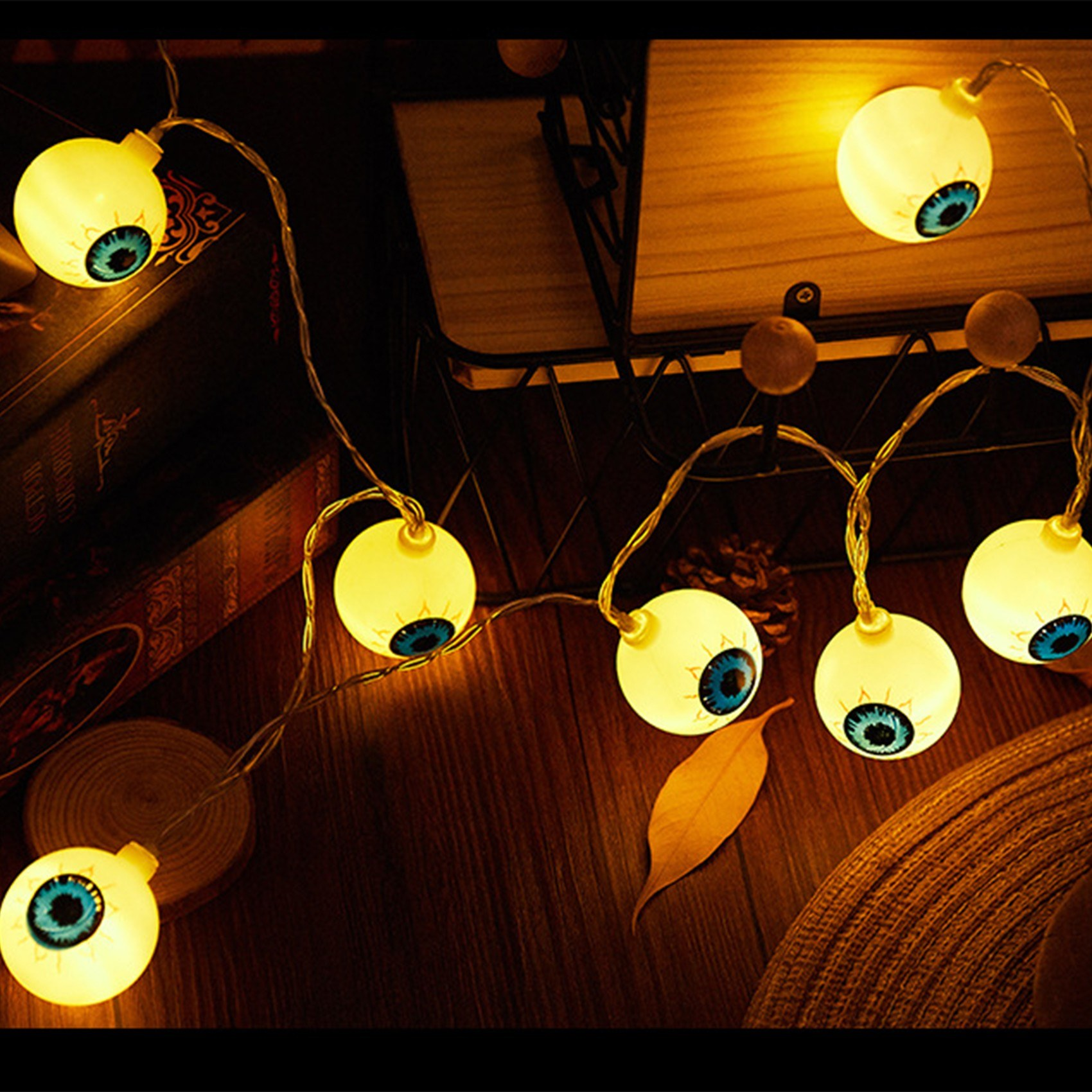 Tomtop - [25% OFF Buy 2+] Halloween String Lights 20 LEDs 10ft Waterproof Twinkle Decoration, $14.40 (Inclusive of VAT)