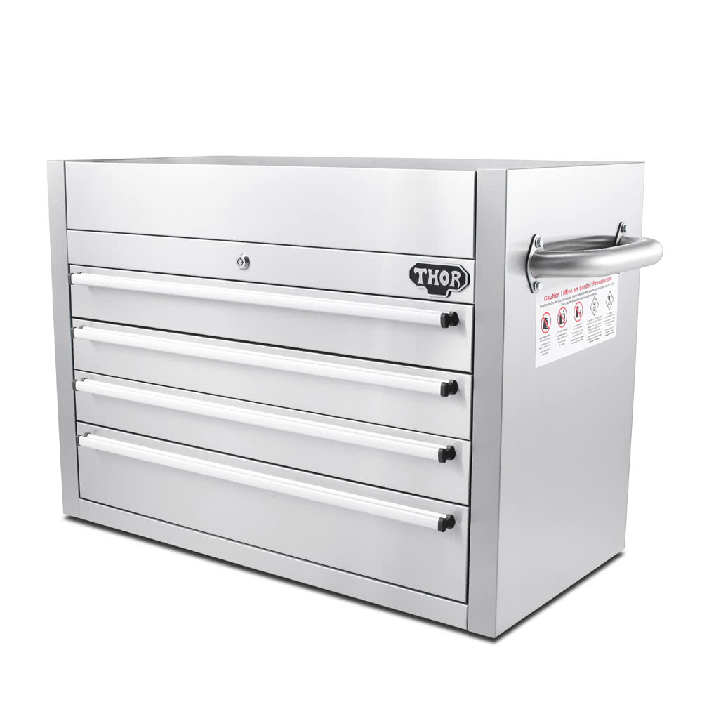 thor htc3008w-1 high quality anti-fingerprint stainless steel tool 30 inch high file cabinet
