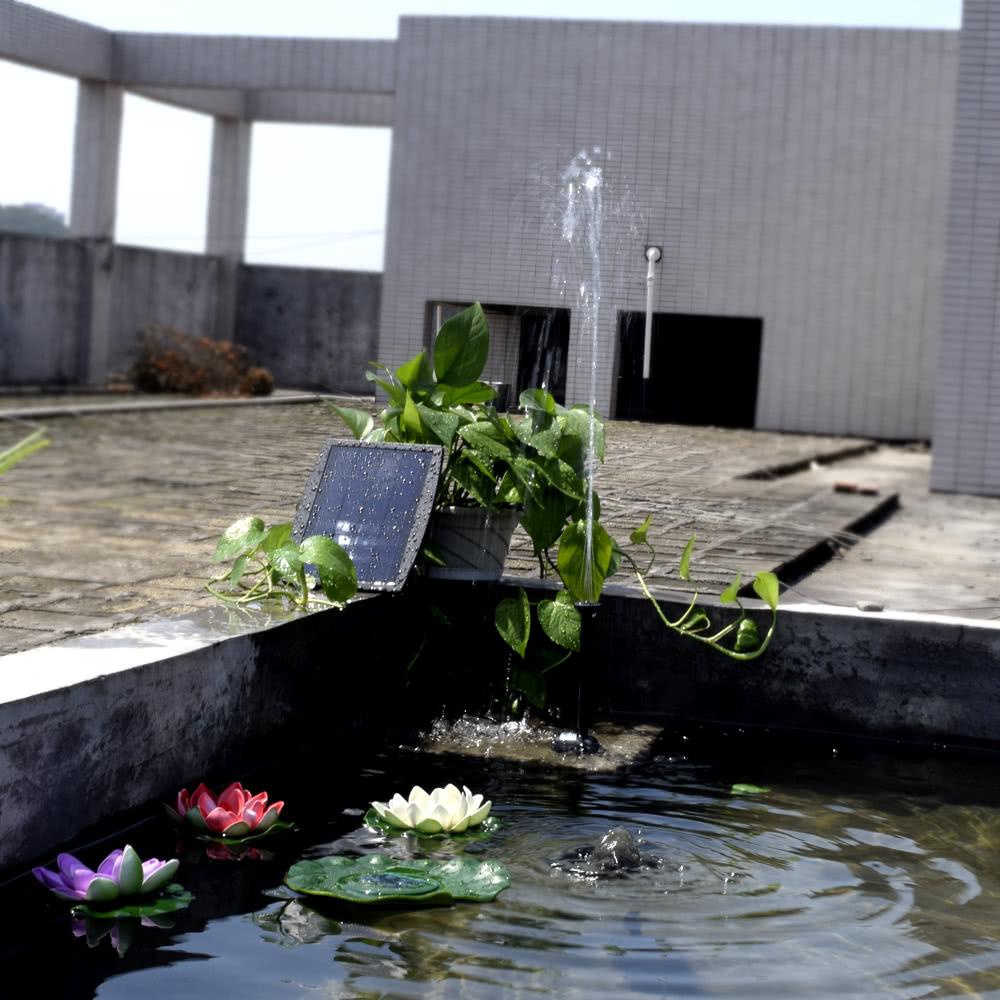 Pannello Solare Per Fontana : Energia solare pannello paesaggio piscina giardino fontane