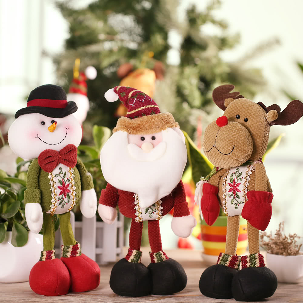 Festnight High-end Lovely Christmas Stuffed Toy Delicate Adorable