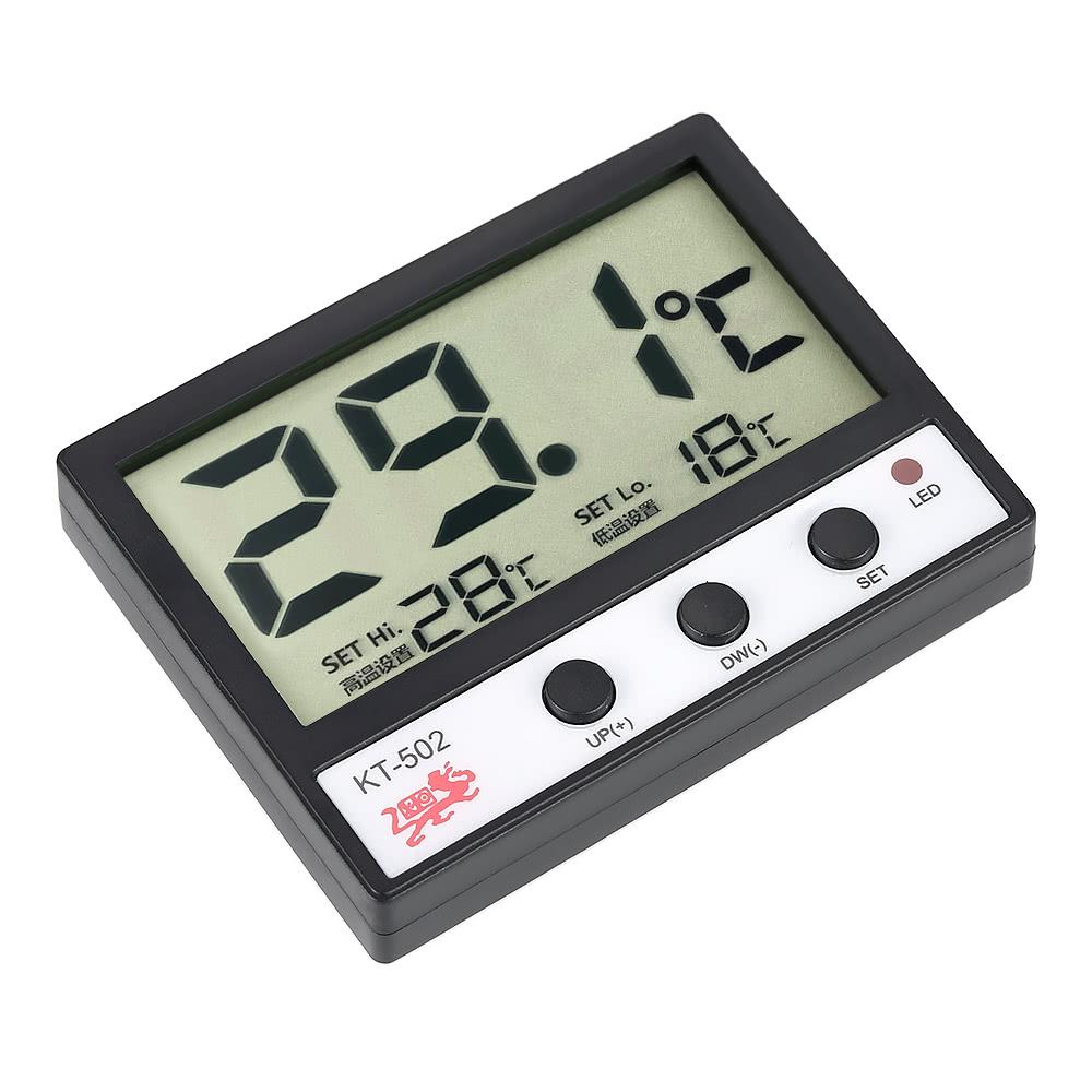 Medidor de temperatura lcd digital fish tanque do aqu rio - Medidor de temperatura ...