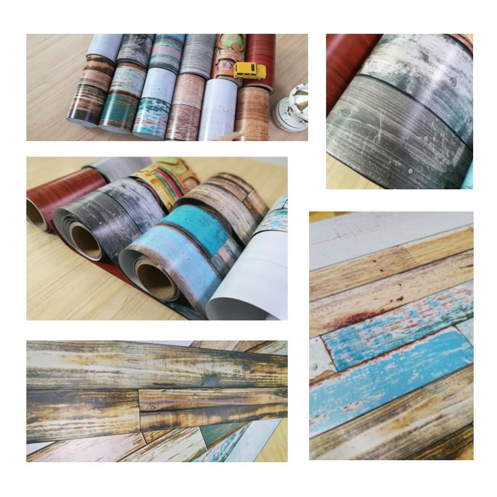 196 8 7 8 39 39 papel auto adhesivo del contacto del piso - Adhesivo para madera ...