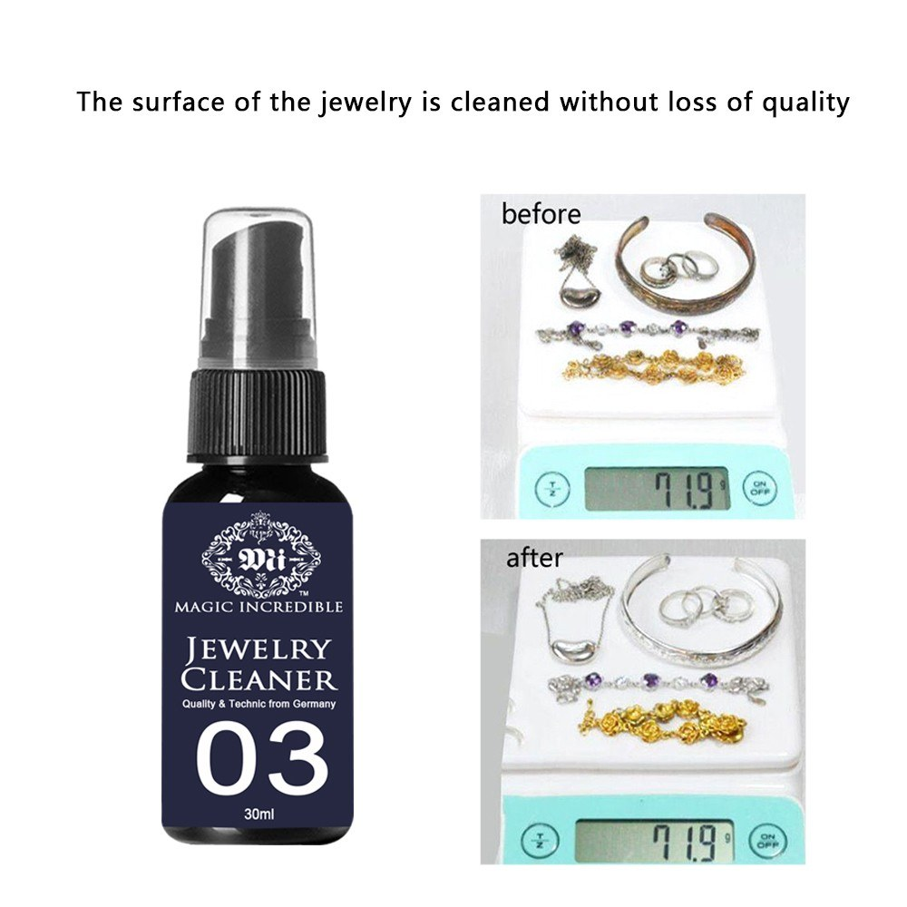 30ml Jewelry Cleaner Versatile Rust Remover