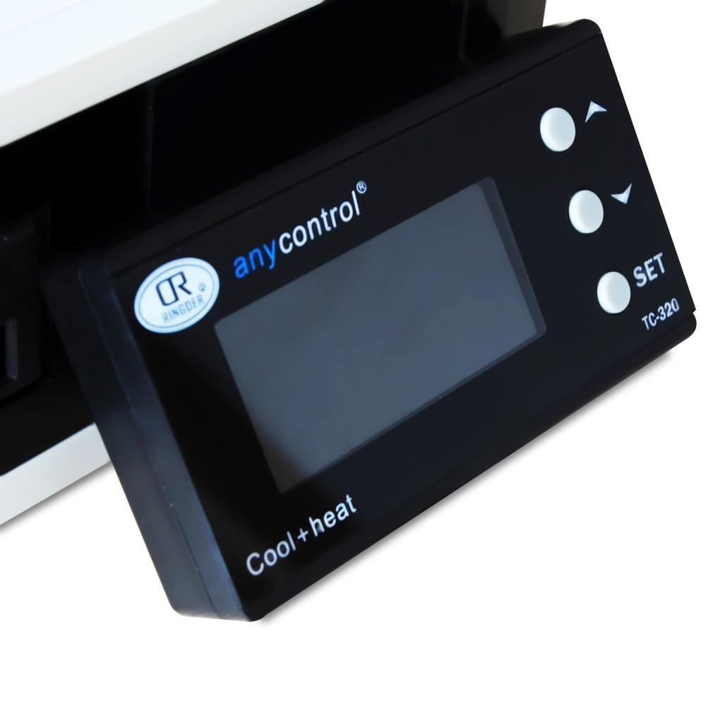 Digital LCD Backlight Aquarium Temperature Controller Thermostat Automatic  Refrigeration & Heating Exchange for Fish Tank Reptile Lizard Box Terrarium