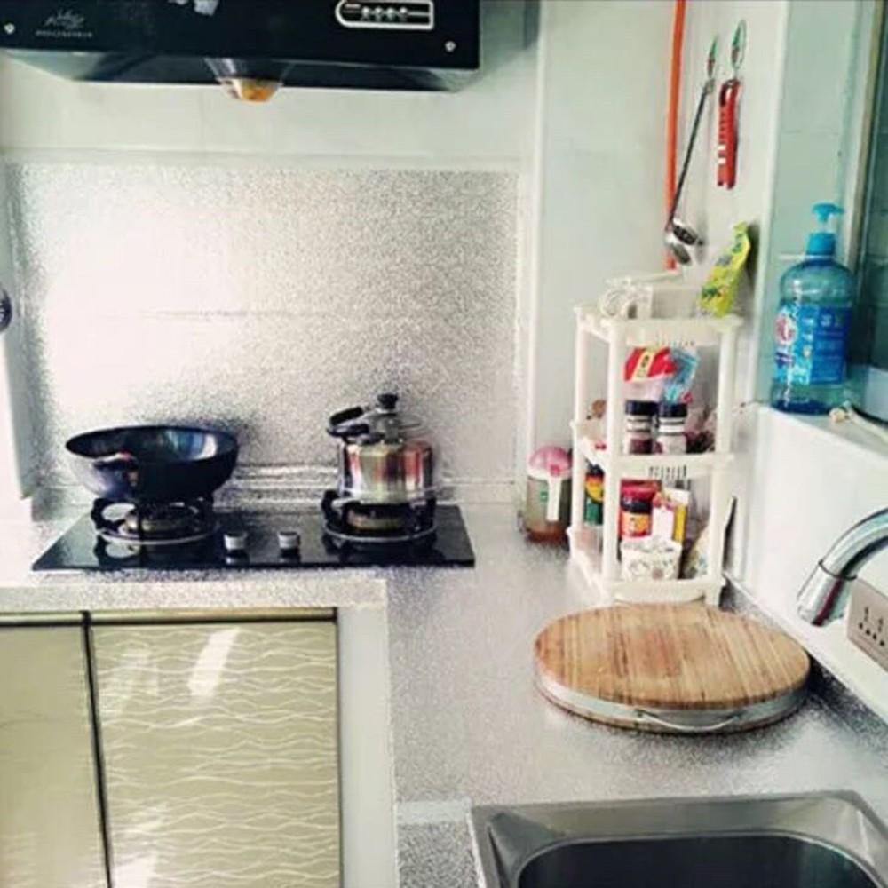 Papel cocina pared perfect papel pintado con relieve with - Papel para paredes de cocina ...