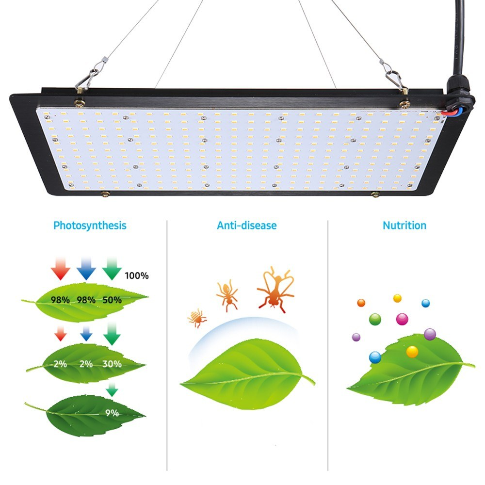 150W LED Grow Board Full Spectrum Quantum Board Sales Online 30# eu plug -  Tomtop