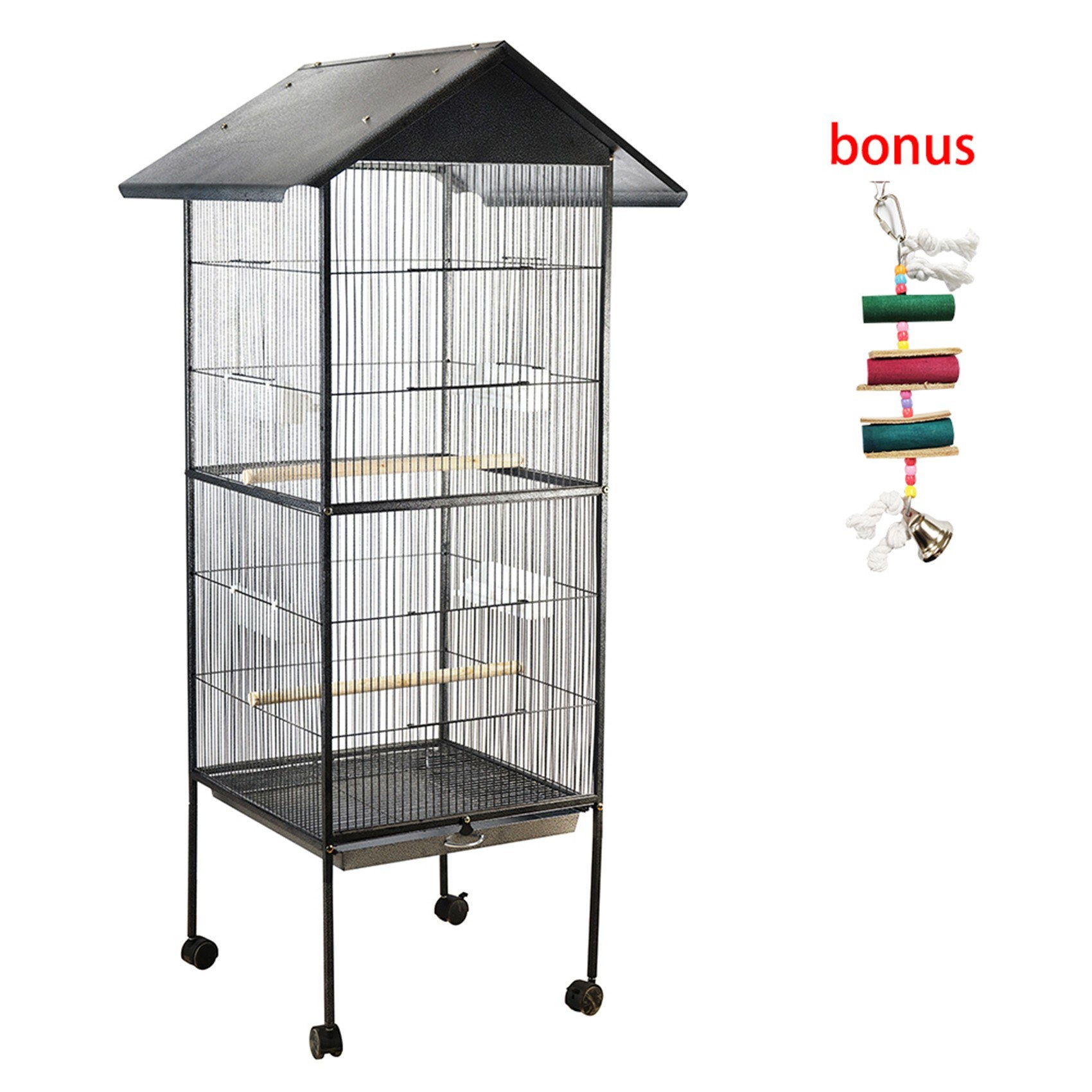 Tomtop - [EU Clearance Sale] 46% OFF Metal Pet Bird Cage, $76.99 (Inclusive of VAT)