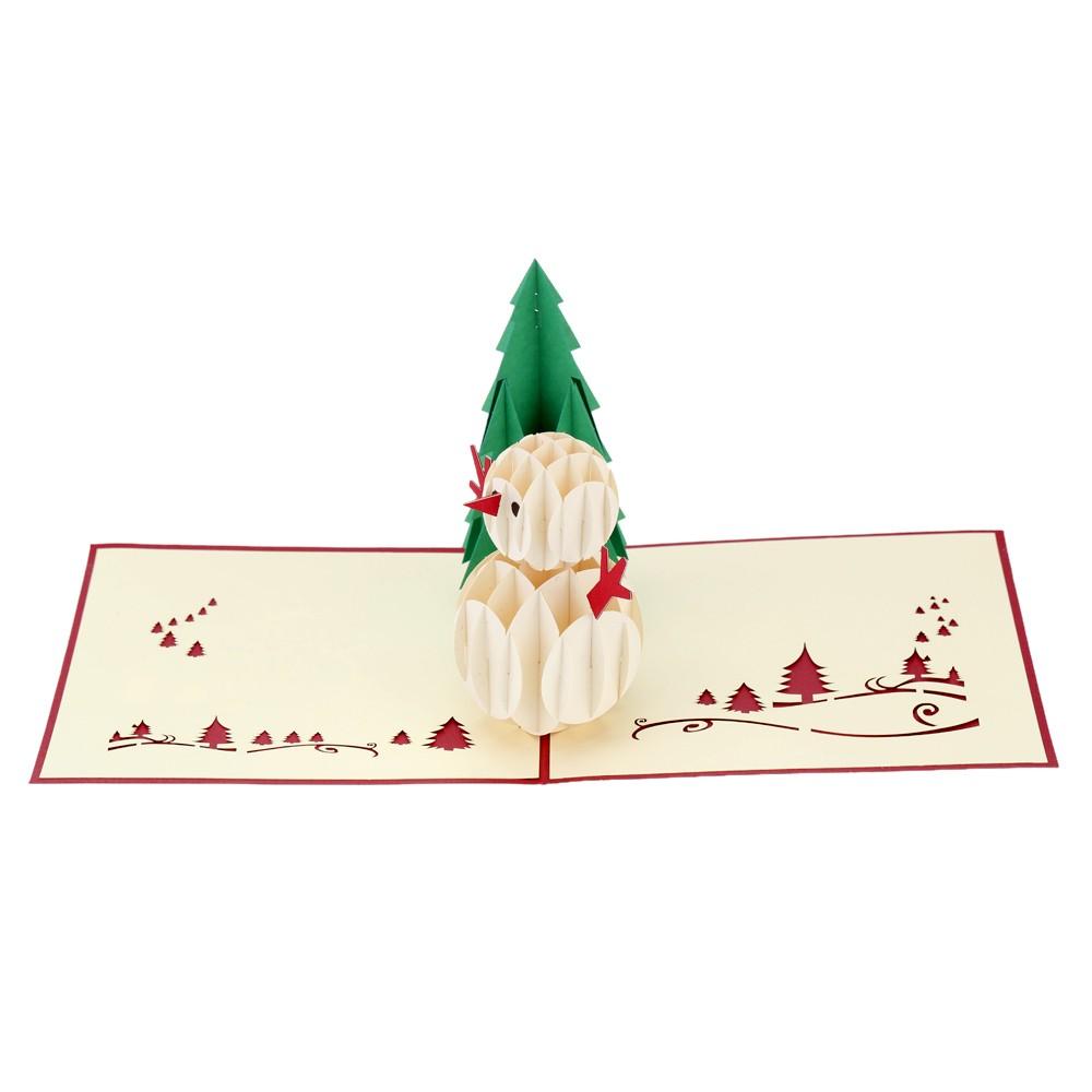 3d handgemacht faltbar weihnachtskarte ausspringen. Black Bedroom Furniture Sets. Home Design Ideas