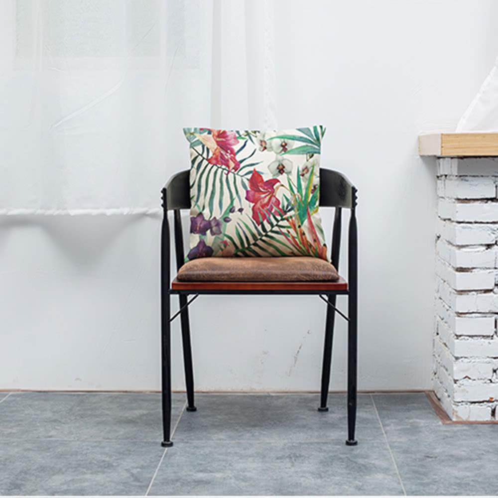 modische elegante bunte hochwertige afrikanische tropische pflanzen bl tter blumen leinen. Black Bedroom Furniture Sets. Home Design Ideas