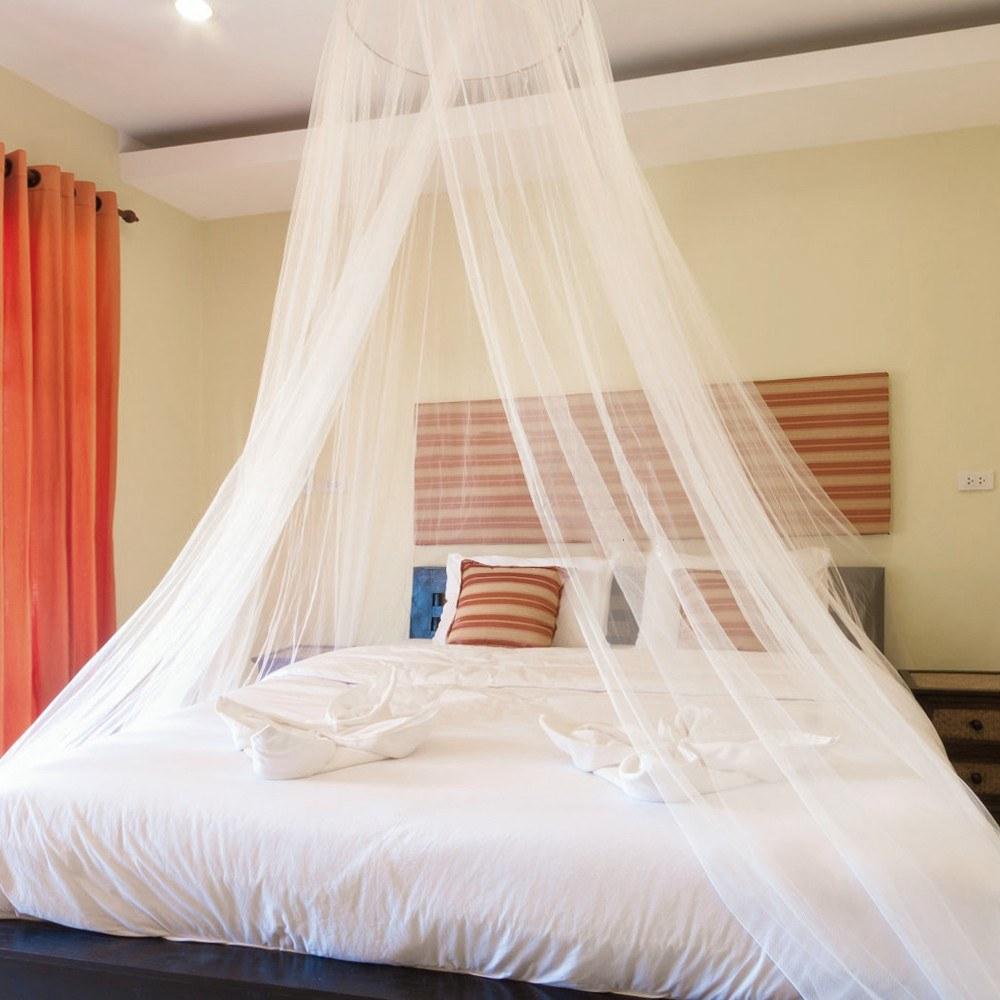 Htovila Universal White Dome Moskitonetz Net Einfache Installation  Hängenden Bett Baldachin Netting Für Single King Size Betten Hängematten  Krippen ...