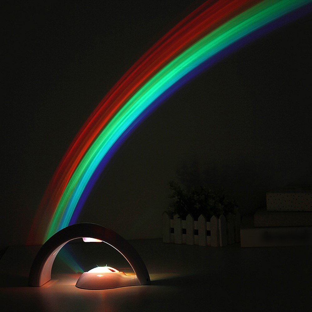 Lucky Rainbow Light Amazing Projector 3D LED Lamp Sales Online Multi    Tomtop