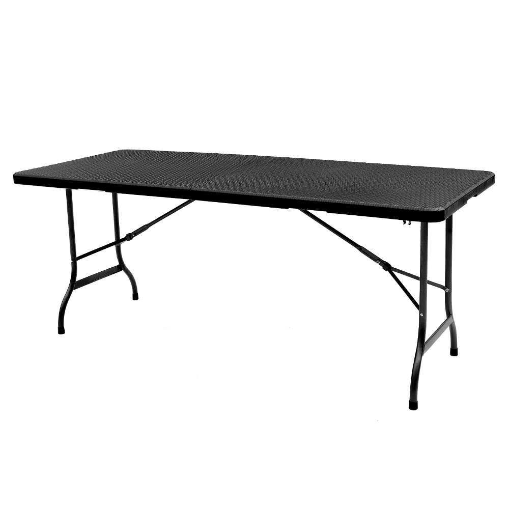 ikayaa 6ft table pliante pour camping pique nique table. Black Bedroom Furniture Sets. Home Design Ideas
