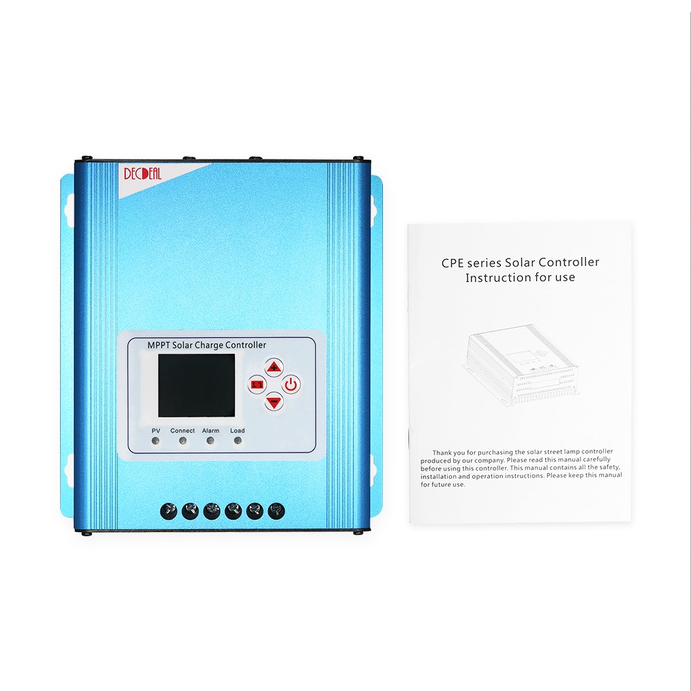 Decdeal 30a Mppt Solar Charge Controller 12v 24v 48v Battery Wiring Schematic Also Circuit Charging Regulator With Lcd Display Overload Protection Data Record Sales Online Tomtop