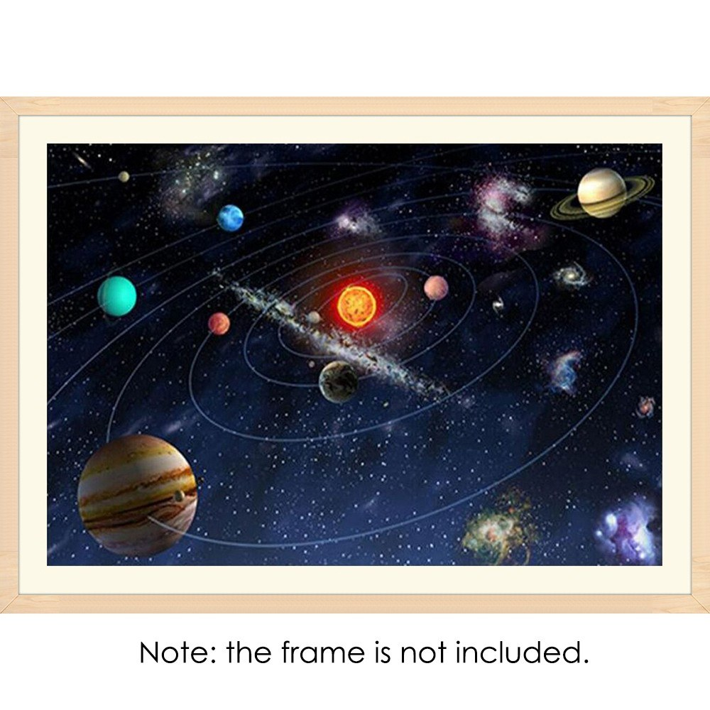 Outer Space Diamond: 12 * 16 Inches/30 * 40cm DIY Full 5D Diamond Painting Kit