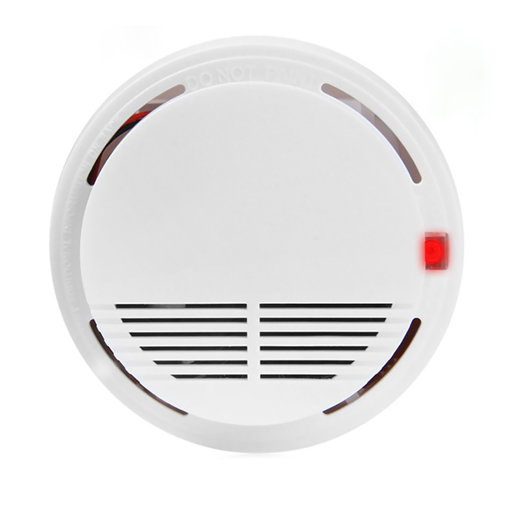 9v Battery Operated Photoelectric Smoke Alarm Item H23695