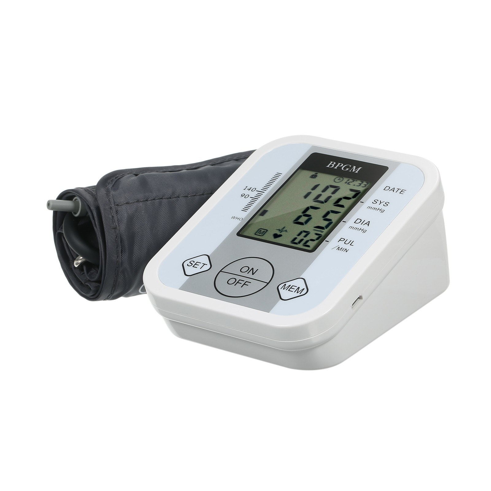tomtop.com - 59% OFF Electronic Blood Pressure Monitor, Free Shipping $17.99