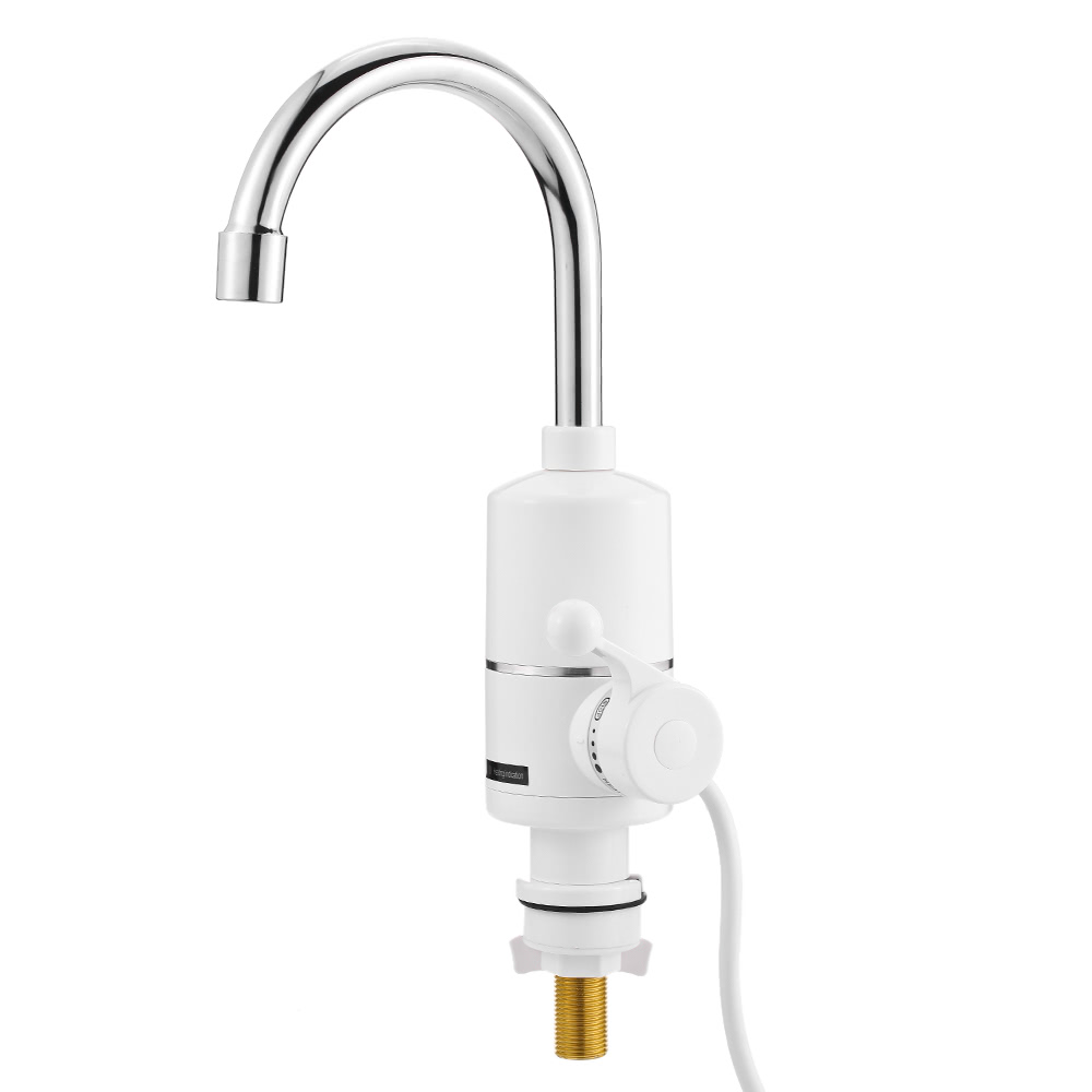 Bathroom Kitchen Electric Hot Water Faucet Single Handle Electric ...